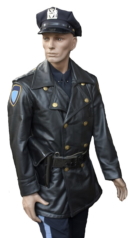 Leather Highway Patrol Jacket Uniforms By Park Coats